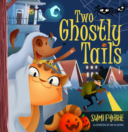 Two Ghostly Tails by Sumi Fyhrie