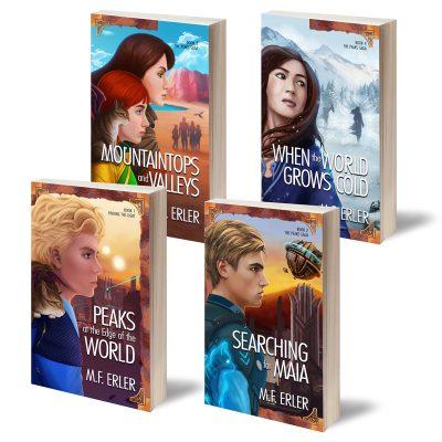 The Peaks Saga, Books 1-4