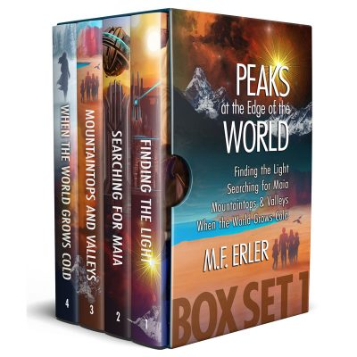 The Peaks Saga eBook Set, 1-4 by M.F. Erler